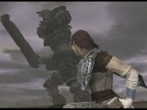 Shadow of the Colossus 3rd Colossus Full HD running on PCSX2 1.1.0