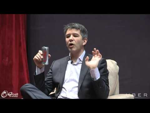 Fireside chat with Uber CEO, Travis Kalanick at IIT  Bombay