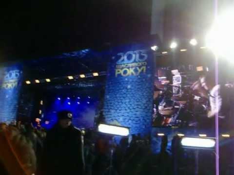 6. Новый 2013 год. Киев. Концерт DDT на Майдане.Это все.
