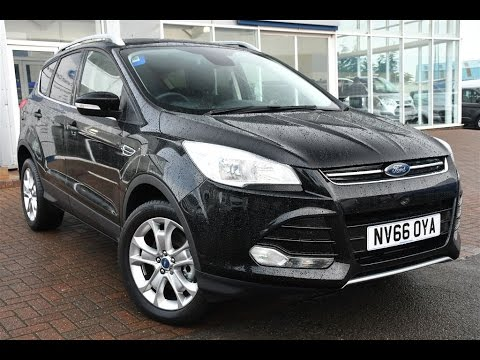 used ford kuga titanium tdci 4x4 shadow black 2016 youtube. Black Bedroom Furniture Sets. Home Design Ideas