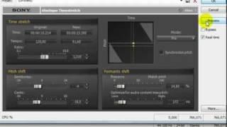Sound forge pro 10 Mudando voz para locutor profissional.