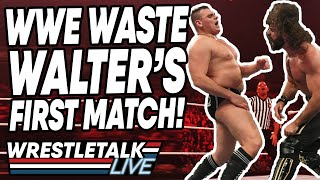 WWE WASTE WALTER's First Match! WWE Raw Nov. 11, 2019 Review | WrestleTalk Live