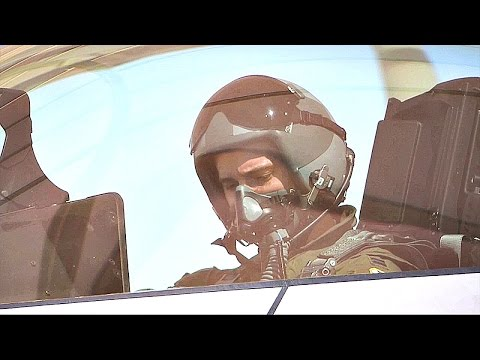 The Most Lethal Aircraft: F-22 Preflight Check, Takeoff