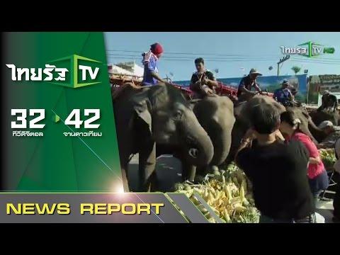มหัศจรรย์งานเลี้ยงช้างที่ใหญ่ที่สุดในโลก   20-11-58   เช้าข่าวชัดโซเชียล   ThairathTV