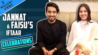 Jannat Zubair Rahmani's Iftaar Treat For Faisal Shaikh Aka Faisu | Iftaar Celebrations