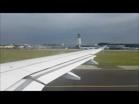 Brussels Airlines A320 Vienna Intl. Airport - Brussels Intl. Airport Soft Landing!