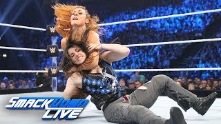Nikki Cross vs. Becky Lynch: SmackDown LIVE, Nov. 6, 2018