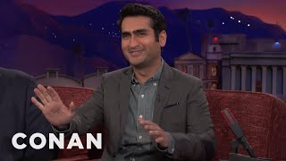 Kumail Nanjiani Was Very Excited To Be On Pornhub  - CONAN on TBS