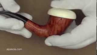 pipa Hilson Virgin De Luxe Champagne shape 500 - smoking pipe 122