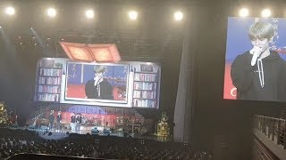 Jae shows up at DAY6's first domestic fan meeting despite being sick