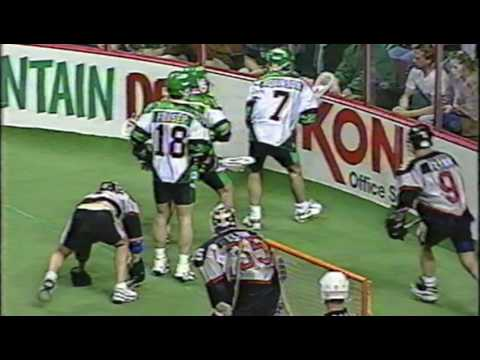 NLL MILL Era 1997 Boston Blazers @ Philadelphia Wings