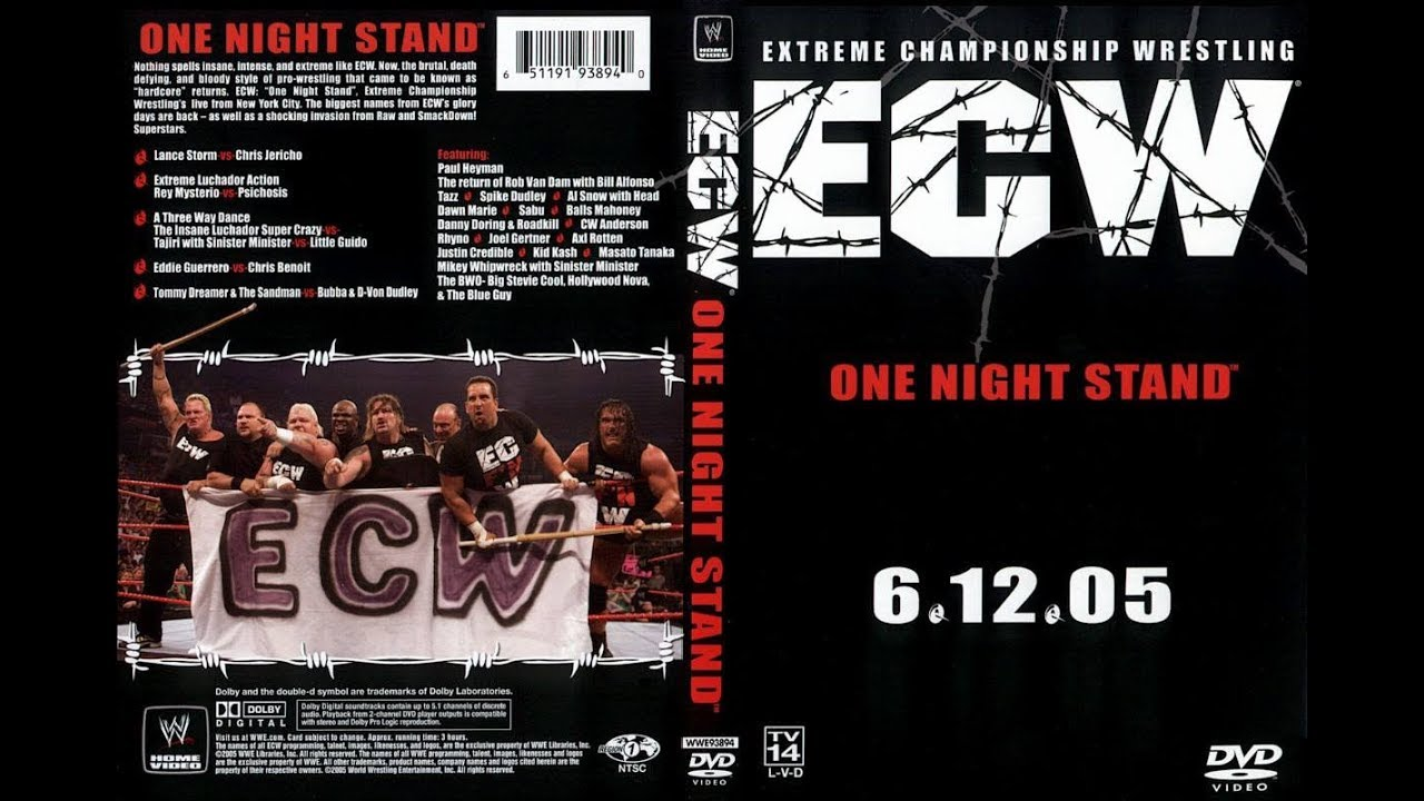 WRESTLING PPV CLASSICS :: ECW One Night Stand 2005 Review :: One of the  Best PPVs Ever?