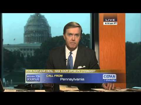 Crazy C-SPAN Callers on the Iran Nuclear Deal
