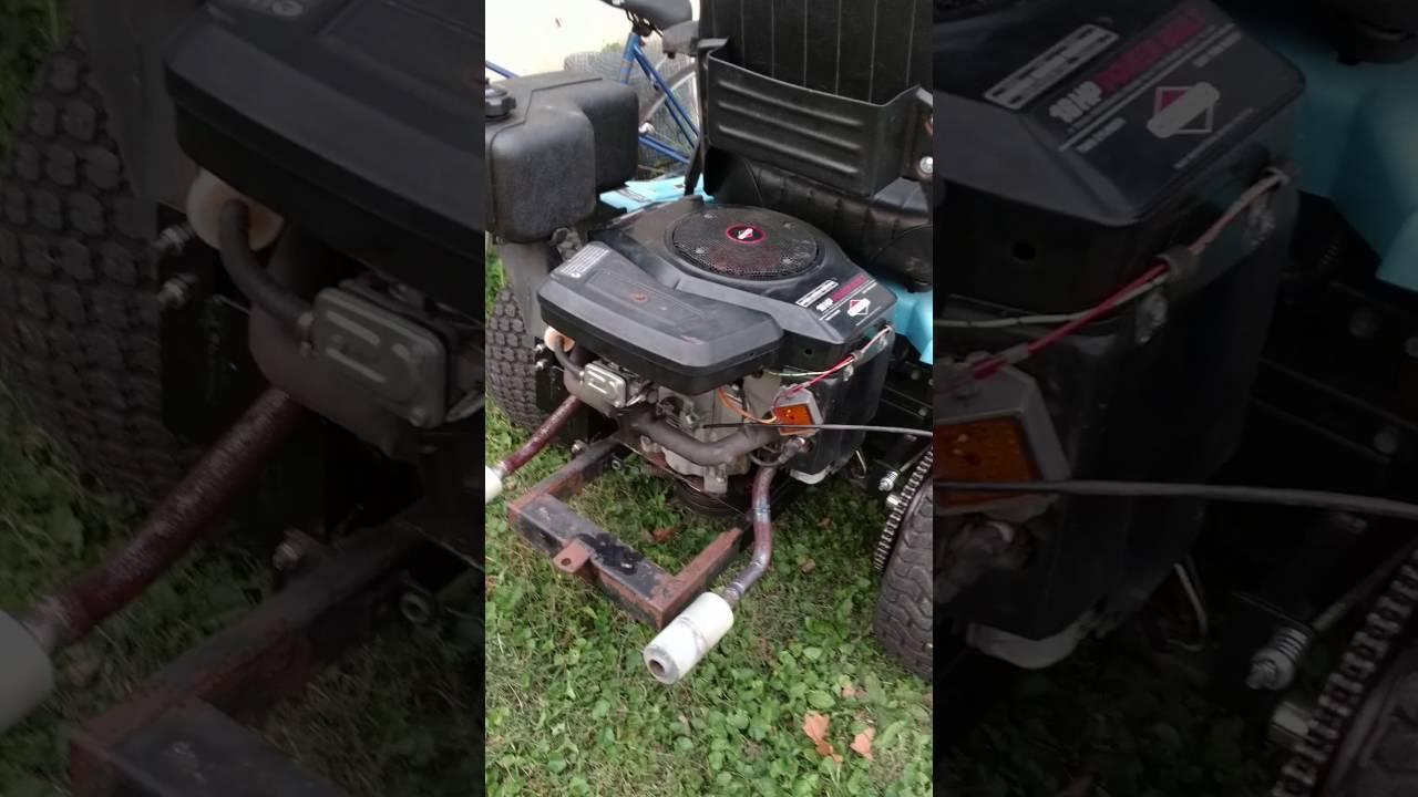 Dixon 4421 restoration YouTube – Dixon Mower Wiring Harness