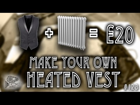 #123: DIY Heated Vest For less than €20!! Pt.1