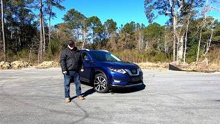 2018 Nissan Rogue SL AWD Platinum Reserve - Startup, Walkaround & Drive Review