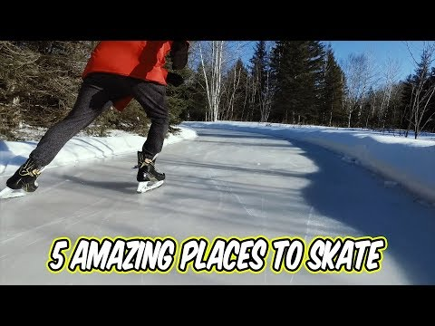 5 Amazing Places to Skate near Ottawa
