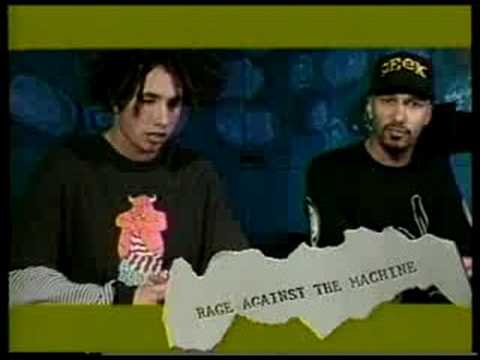 "Rage Against the Machine on ""Guest List"" Music Magazine"
