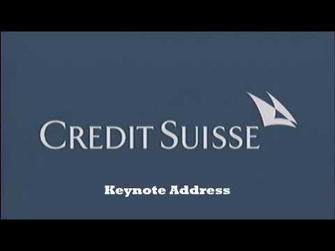 Credit Suisse Keynote