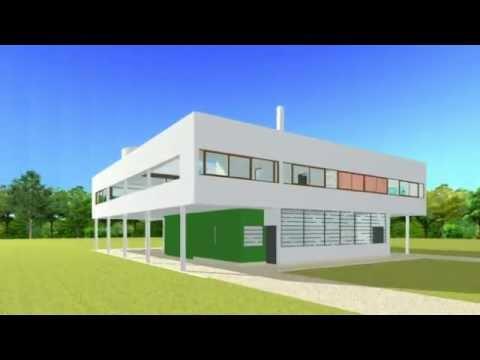Villa Savoye - YouTube