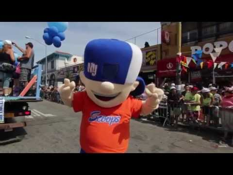 Cool Suppliers MASCOT DANCES AT MERMAID PARADE IN BROOKLYN