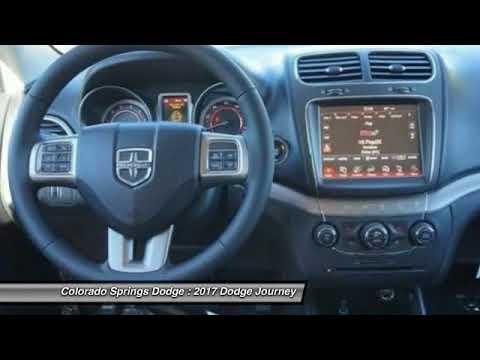 Colorado Springs Dodge >> 2017 Dodge Journey Colorado Springs Co 4617r Youtube