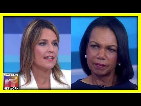 NBC Host SILENCED By Condi Rice SECONDS AFTER Spouting False Trump Info