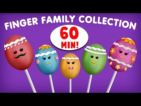 Cake Pop Finger Family Rhyme | Non-Stop 60 Minutes | Biggest Collection of Finger Family Songs
