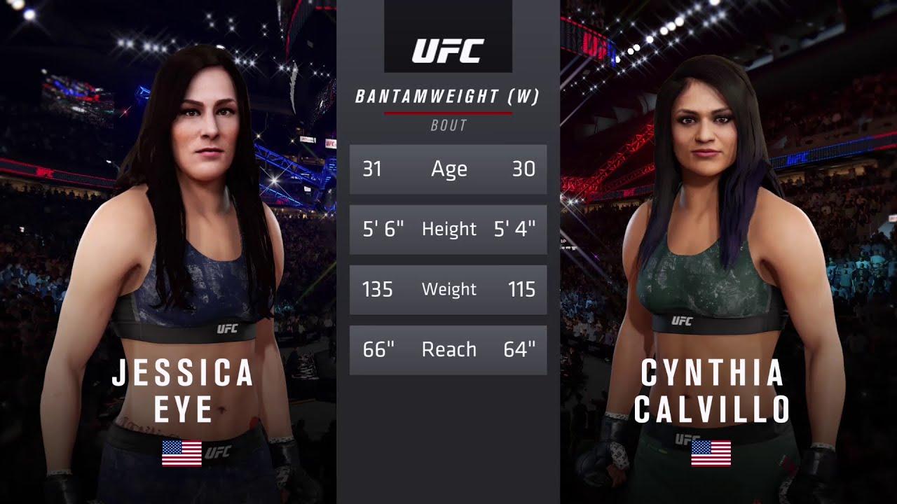 UFC Fight Night Results: Cynthia Calvillo Beats Jessica Eye Via ...