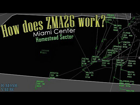 How does Miami Center work? | Sector ZMA26 (Homestead)