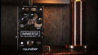 Neunaber Immerse Reverberator MkII - Stereo Demo (Use Headphones)