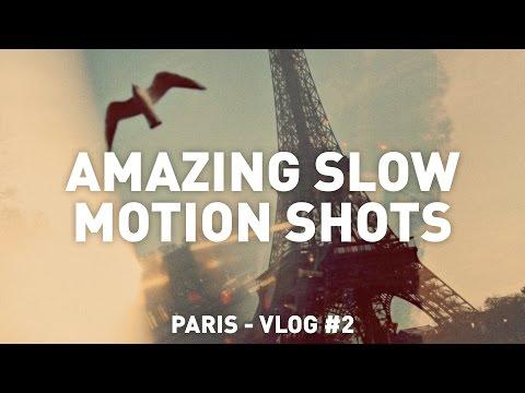 AMAZING SLOW MOTION SHOTS - Vlog #2
