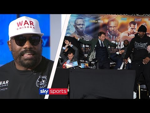 Dereck Chisora explains why he's finished flipping tables & talks Dillian Whyte (w/David Haye)