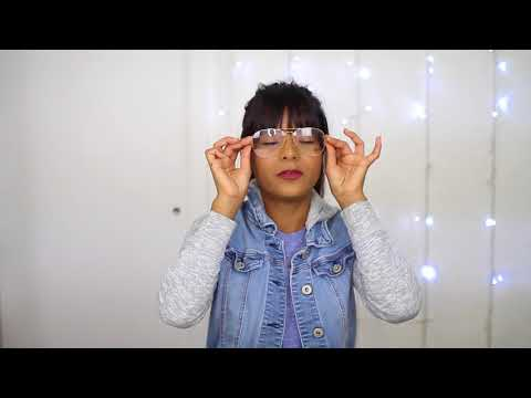 0b15256c4122 Ray-Ban Rx 6589 Aviator Gaze Prescription Glasses Review - YouTube