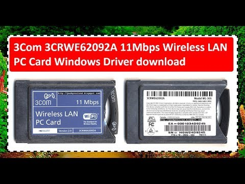 11MBPS WIRELESS LAN PC CARD WINDOWS VISTA DRIVER DOWNLOAD