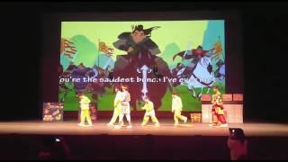 屯門晨崗學校 2016 才藝表演英語音樂劇花木蘭