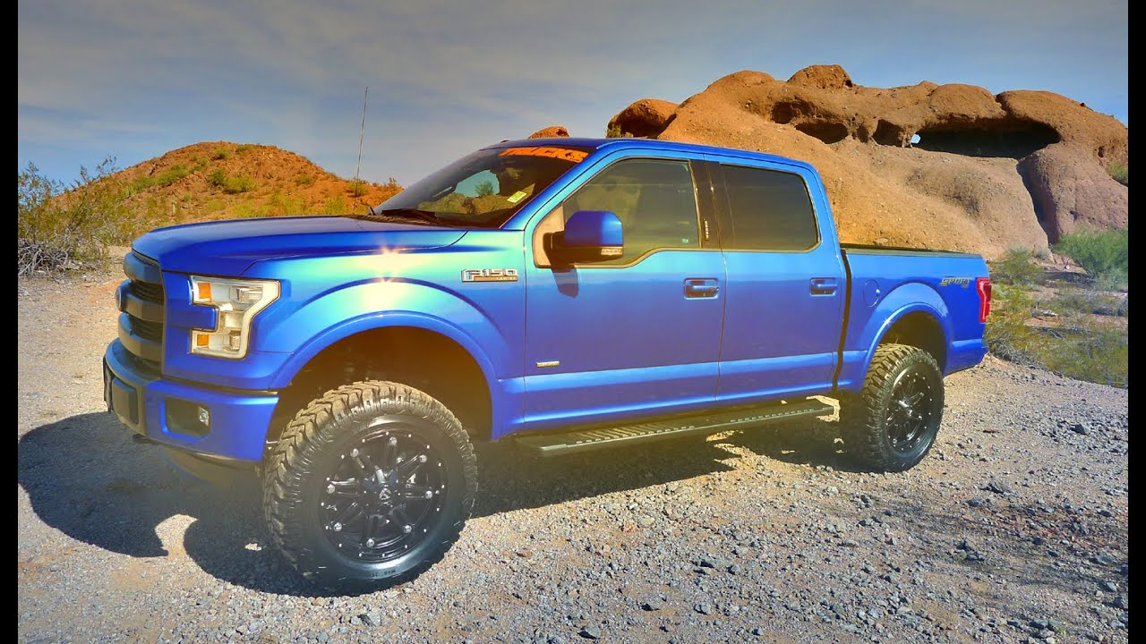 truck yea 2015 ford f 150 super crew lariat 4x4 lifted. Black Bedroom Furniture Sets. Home Design Ideas