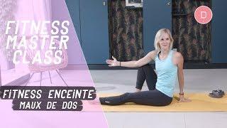 Stretching contre les maux de dos (20 min) – Fitness pendant la grossesse