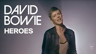 david bowie heroes official video