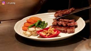 第一次在日本吃入口即溶的【神戶牛肉铁板烧】 Teppanyaki with Kobe Beef in Ikuta Road