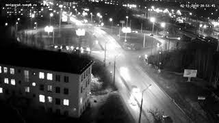 Жесткая авария на нижнем Чапаевском кольце