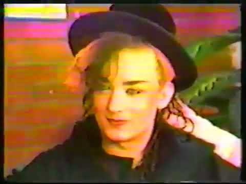 CULTURE CLUB Interview 1982 Cable Rock Around