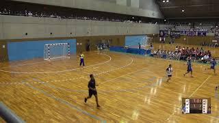 6日 ハンドボール女子 国体記念体育館Cコート 佼成学園女子×和歌山商業 2回戦 1