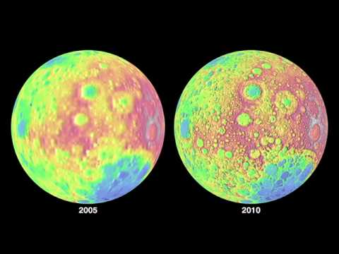 New Lunar Topographic Map is Best Yet
