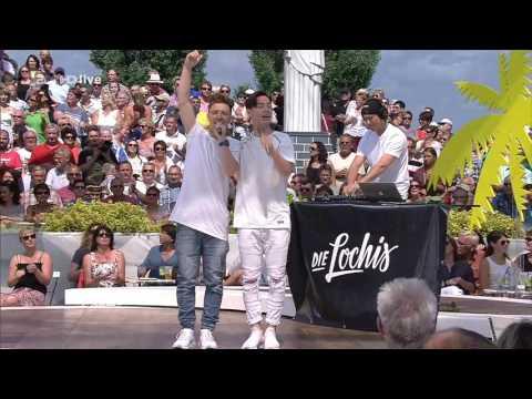 Die Lochis - Lieblingslied - ZDF Fernsehgarten 07.08.2016
