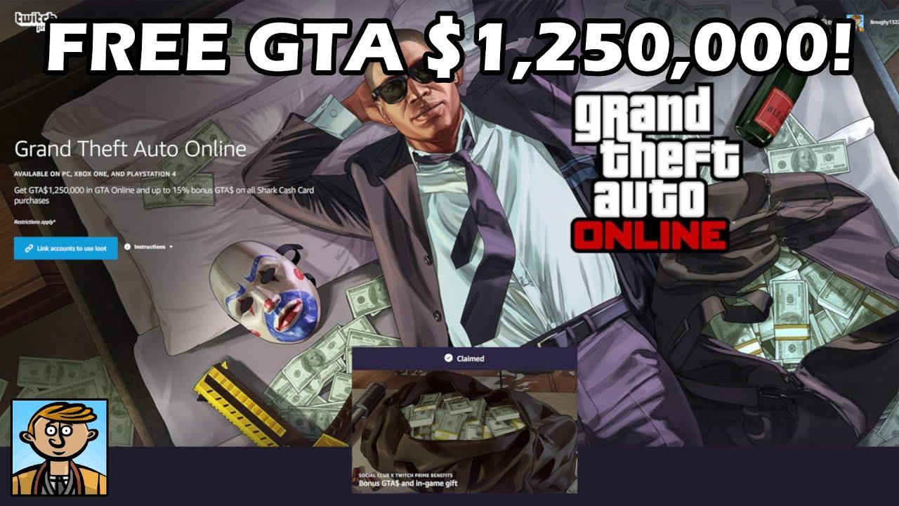 Free GTA Online Money! $1 25 Million In GTA Plus $300 In Red Dead Online!