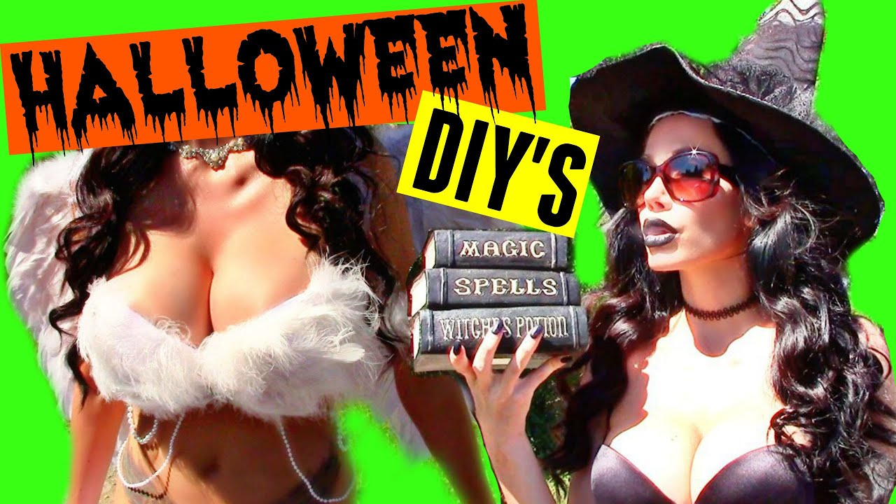 sc 1 st  YouTube & SEXY HALLOWEEN COSTUME IDEAS + DIY (UPBRA) - YouTube