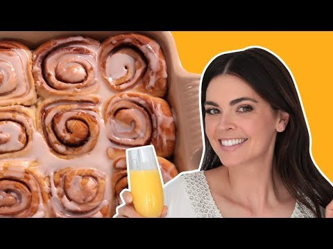 How to Make Cinnamon Rolls with Katie Lee   What Would Katie Eat