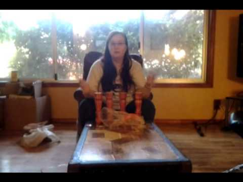 Turn a trunk into a coffee table youtube for How to turn a trunk into a coffee table