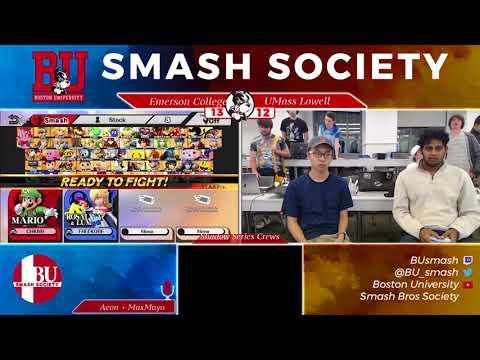 Smash Society Bimonthly 1 Shadow Series Crews: Emerson College vs UMass Lowell